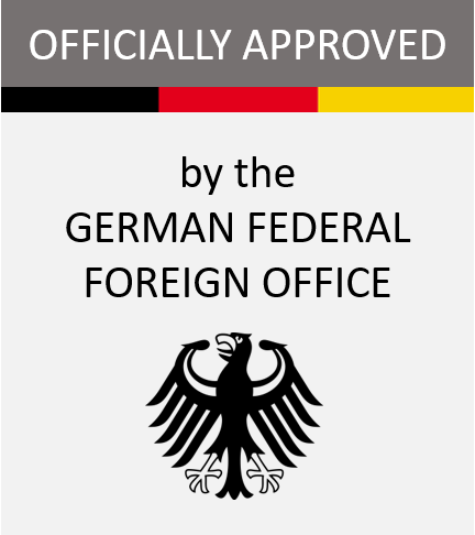 Accepted & Approveed by the Federal Foreign Office