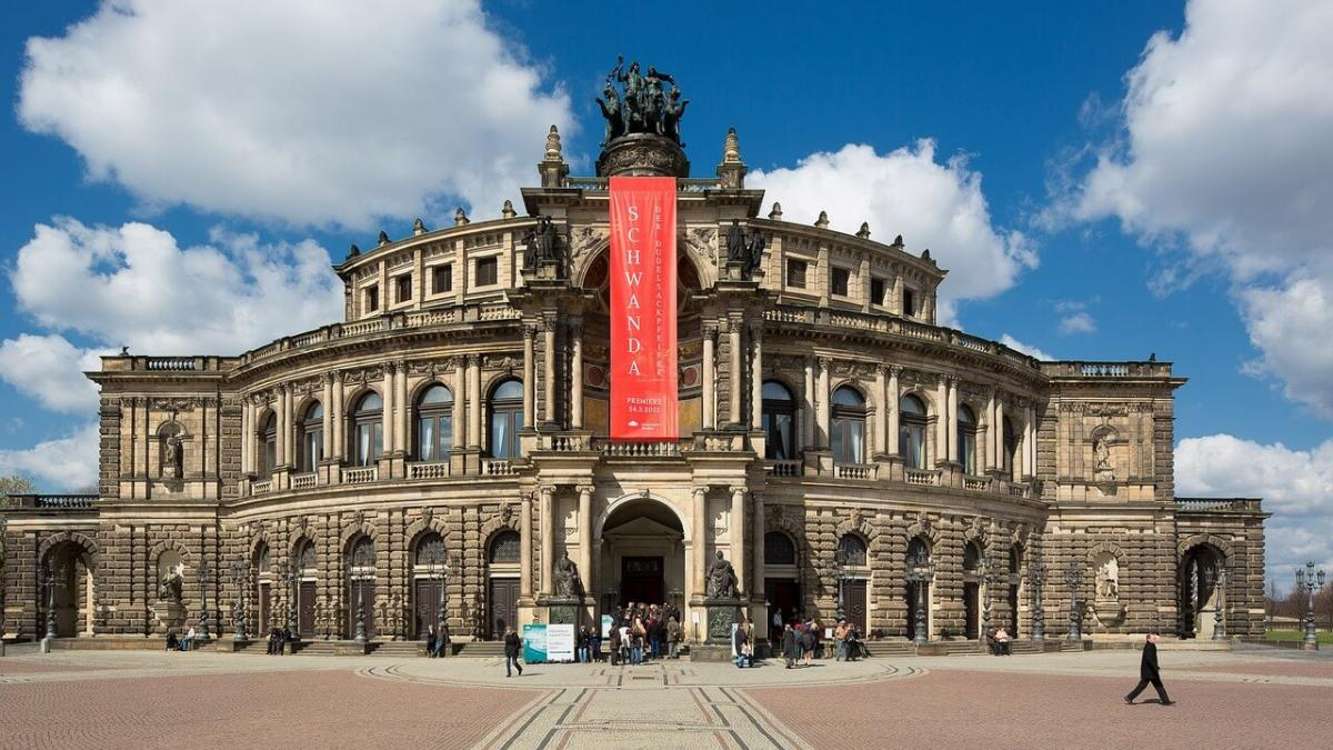 The Semperoper in Dresden
