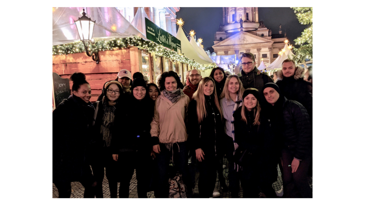 Expatrio team at the Christmas market in Berlin
