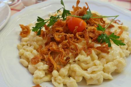 Käsespätzle - German cheese noodles
